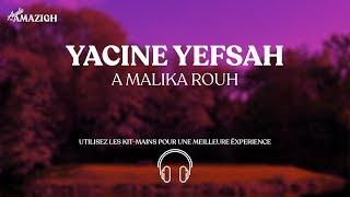Yacine Yefsah -Malika- (Version Live) 8D Audio