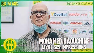 Mohammed Haouchine, livre ses impressions