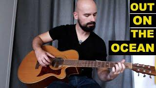 Out on the ocean - guitare folk